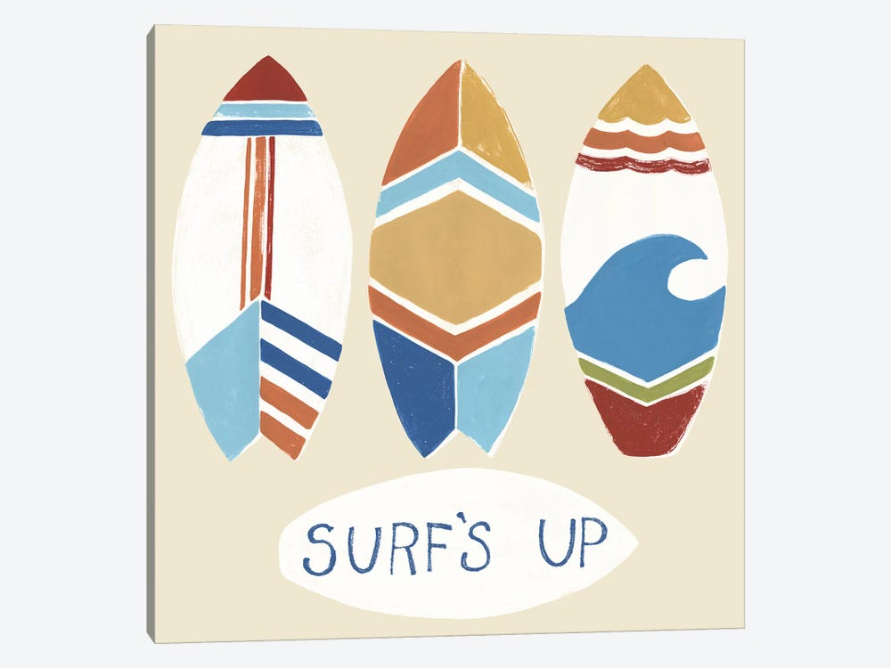 Surf's Up! I by June Erica Vess 1-piece Art Print