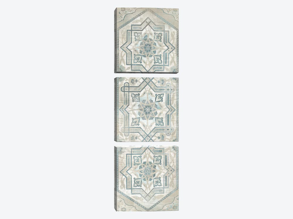 Vintage Persian Panel III 3-piece Canvas Wall Art
