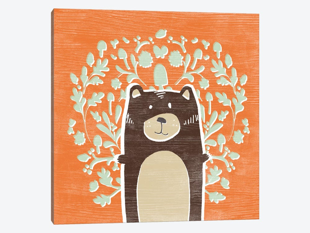 Woodland Cutie I by June Erica Vess 1-piece Art Print