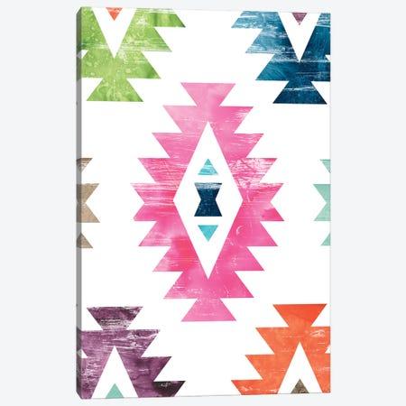Aztec Brights I Canvas Print #JEV1457} by June Erica Vess Canvas Print