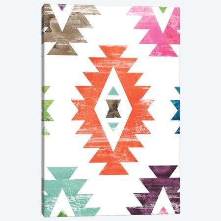 Aztec Brights IV Canvas Print #JEV1460} by June Erica Vess Art Print