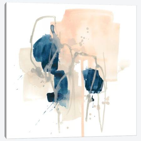 Azurite I Canvas Print #JEV1461} by June Erica Vess Art Print