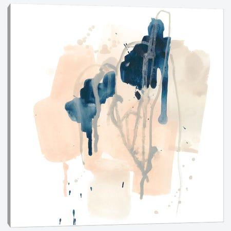 Azurite II Canvas Print #JEV1462} by June Erica Vess Art Print