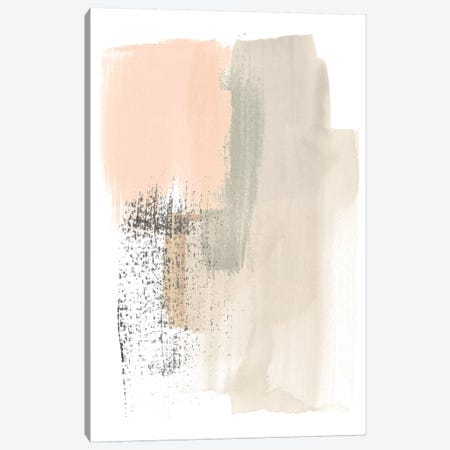 Blush Abstract I Canvas Print #JEV1469} by June Erica Vess Art Print