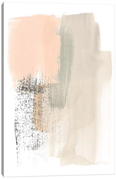 Blush Abstract I Canvas Art Print