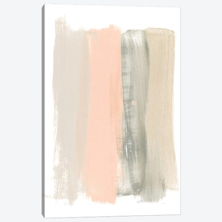Blush Abstract II 3-Piece Canvas #JEV1470} by June Erica Vess Canvas Art