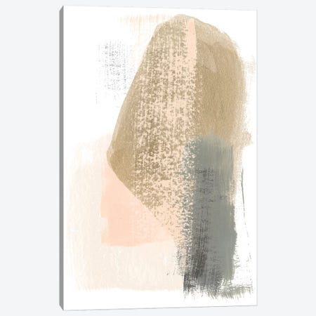 Blush Abstract III Canvas Print #JEV1471} by June Erica Vess Canvas Wall Art