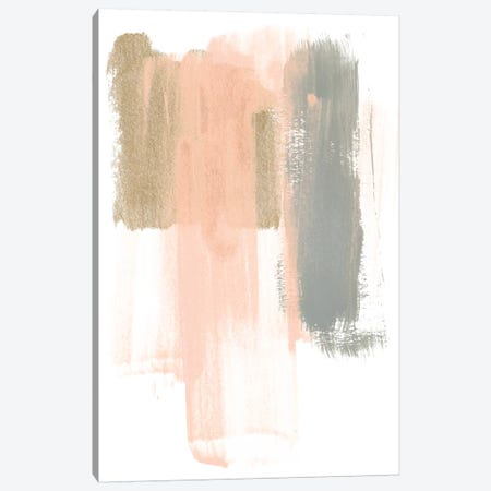 Blush Abstract IV 3-Piece Canvas #JEV1472} by June Erica Vess Canvas Art