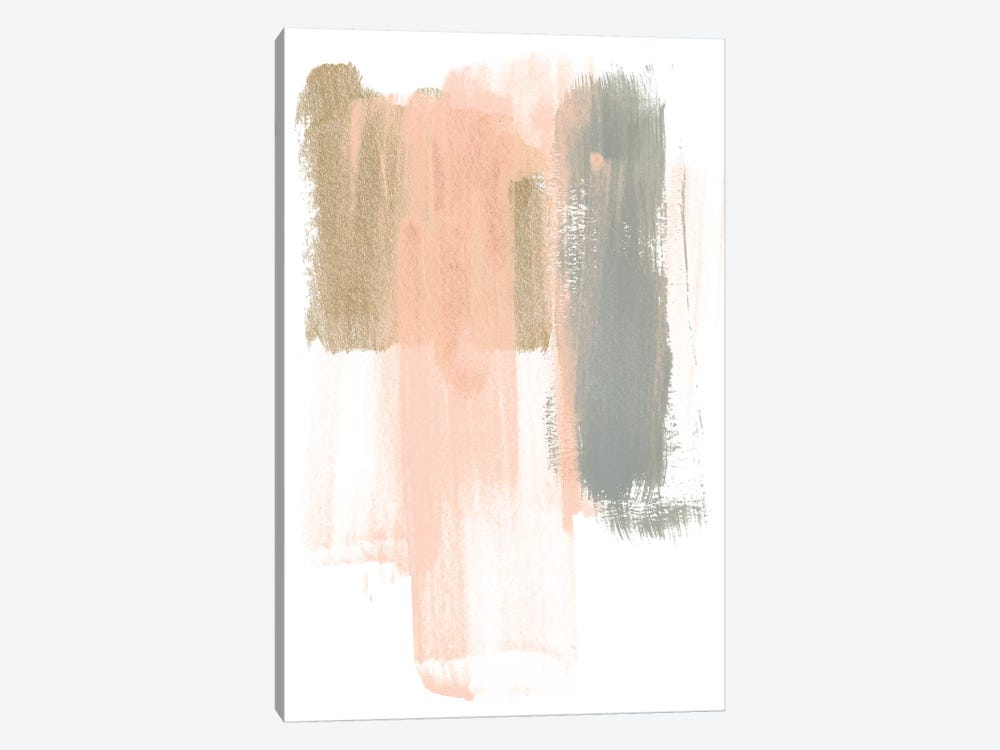 Blush Abstract IV by June Erica Vess 1-piece Canvas Art Print