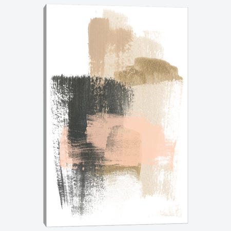 Blush Abstract IX Canvas Print #JEV1473} by June Erica Vess Canvas Artwork