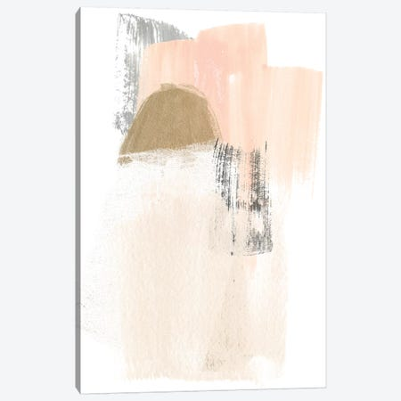 Blush Abstract V Canvas Print #JEV1474} by June Erica Vess Canvas Print