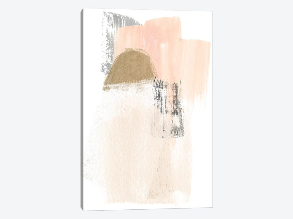 Blush Abstract V by June Erica Vess 1-piece Art Print