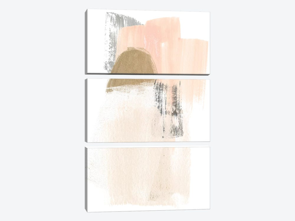 Blush Abstract V by June Erica Vess 3-piece Art Print