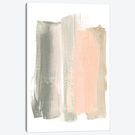 Blush Abstract VIII 3-Piece Canvas #JEV1477} by June Erica Vess Canvas Art Print