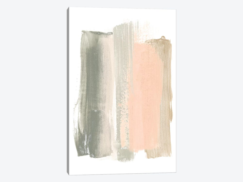 Blush Abstract VIII by June Erica Vess 1-piece Canvas Art