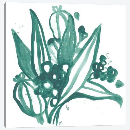 Boho Tropicals I Canvas Print #JEV1478} by June Erica Vess Canvas Artwork