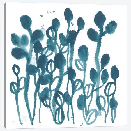 Boho Tropicals II Canvas Print #JEV1479} by June Erica Vess Canvas Artwork