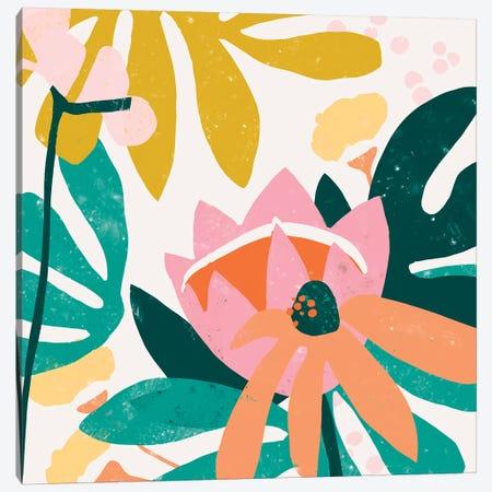 Cut Paper Garden III Canvas Print #JEV1502} by June Erica Vess Canvas Art