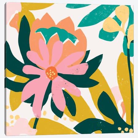 Cut Paper Garden IV Canvas Print #JEV1503} by June Erica Vess Canvas Artwork