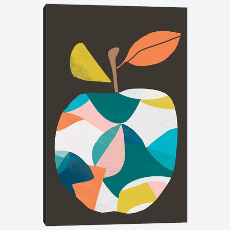 Fab Fruit III Canvas Print #JEV1514} by June Erica Vess Canvas Artwork