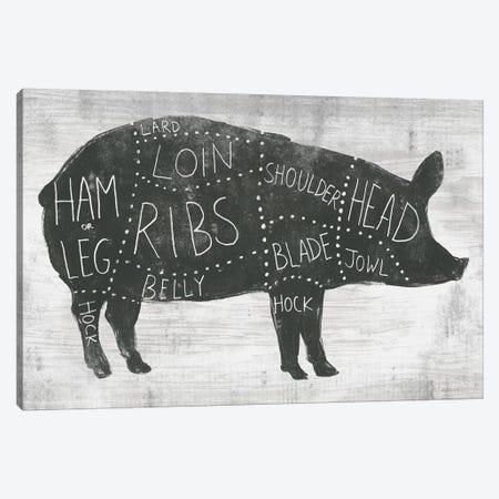 Farmhouse Butcher I Canvas Print #JEV1518} by June Erica Vess Canvas Art Print