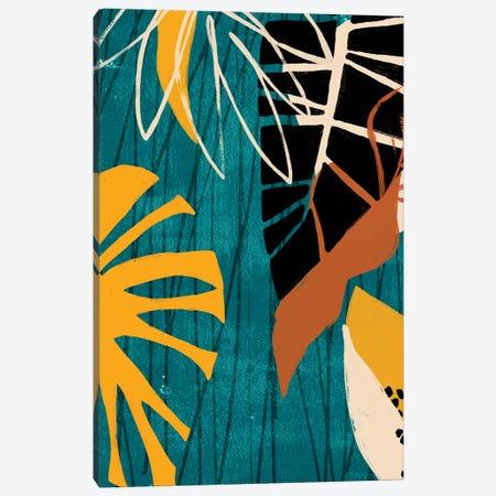 Graphic Blue Lagoon II Canvas Print #JEV1546} by June Erica Vess Art Print