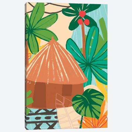 Graphic Jungle V Canvas Print #JEV1551} by June Erica Vess Canvas Print