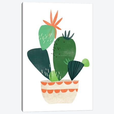 Happy Plants IV Canvas Print #JEV1556} by June Erica Vess Canvas Art