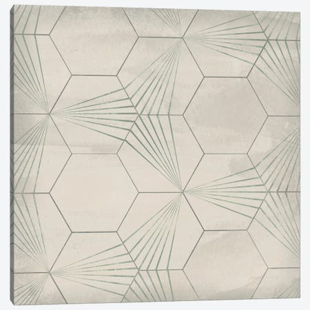 Hexagon Tile I Canvas Print #JEV1557} by June Erica Vess Canvas Art