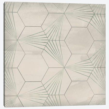 Hexagon Tile I Canvas Print #JEV1557} by June Erica Vess Canvas Art