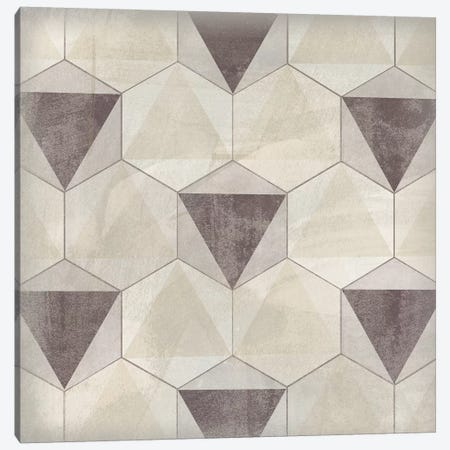 Hexagon Tile II Canvas Print #JEV1558} by June Erica Vess Art Print