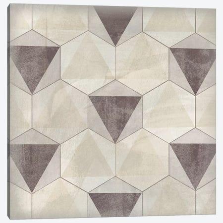 Hexagon Tile II 3-Piece Canvas #JEV1558} by June Erica Vess Art Print