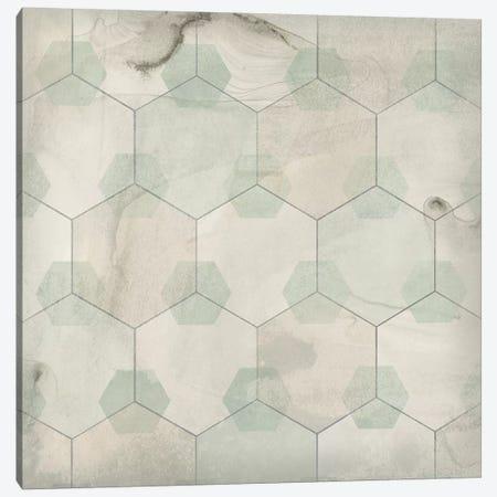 Hexagon Tile III 3-Piece Canvas #JEV1559} by June Erica Vess Canvas Print