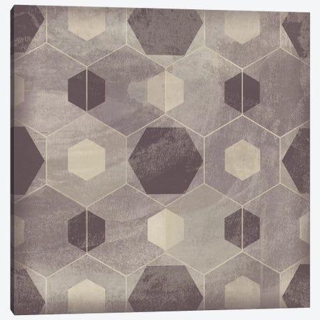 Hexagon Tile IV 3-Piece Canvas #JEV1560} by June Erica Vess Canvas Art
