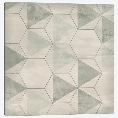 Hexagon Tile IX Canvas Print #JEV1561} by June Erica Vess Canvas Wall Art