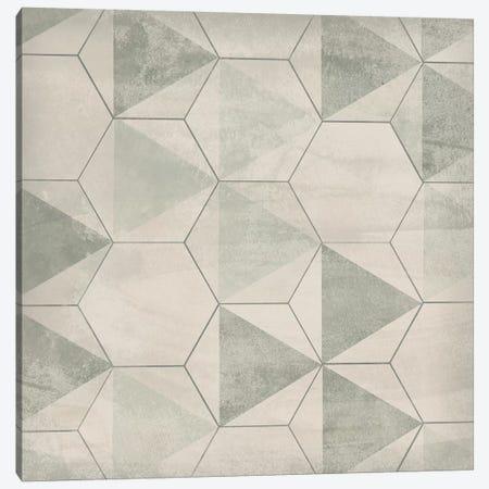 Hexagon Tile IX Canvas Print #JEV1561} by June Erica Vess Canvas Wall Art