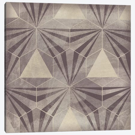 Hexagon Tile VI Canvas Print #JEV1563} by June Erica Vess Canvas Artwork