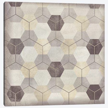 Hexagon Tile VIII Canvas Print #JEV1565} by June Erica Vess Art Print