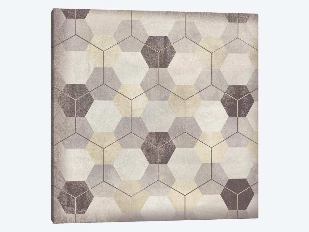 Hexagon Tile VIII by June Erica Vess 1-piece Canvas Wall Art