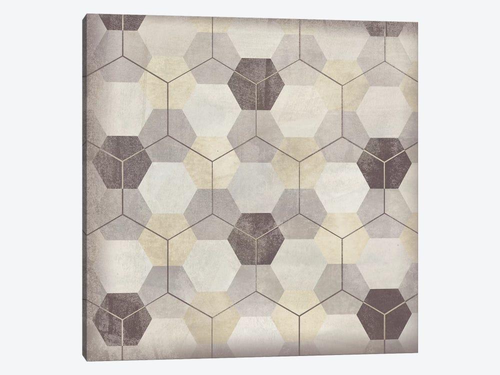 Hexagon Tile VIII by June Erica Vess 1-piece Canvas Wall Art
