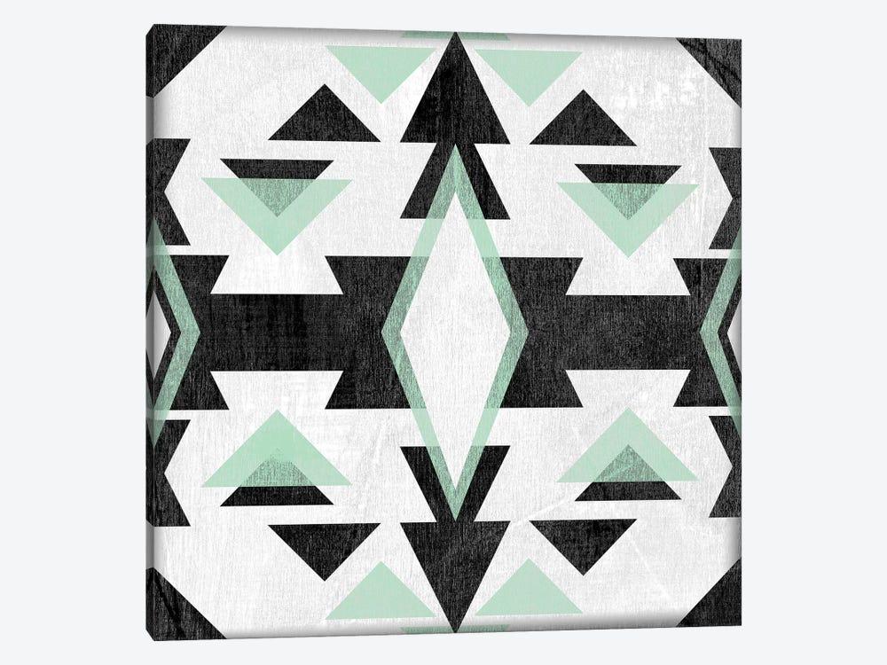 Modern Aztec Motif IV by June Erica Vess 1-piece Canvas Artwork