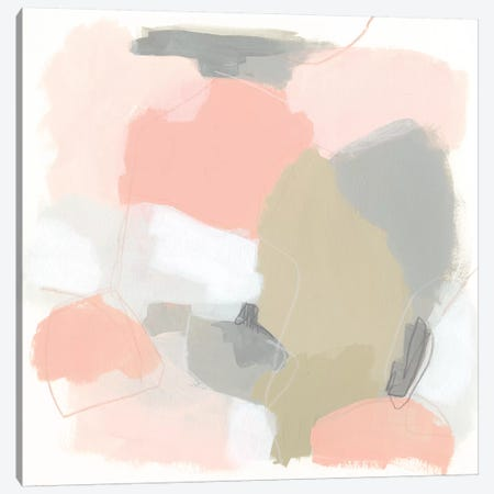 Pink Cloud III Canvas Print #JEV1592} by June Erica Vess Art Print