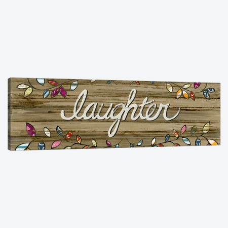 Love & Laughter I Canvas Print #JEV159} by June Erica Vess Canvas Wall Art