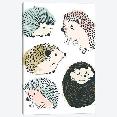 Prickle Pals II Canvas Print #JEV1603} by June Erica Vess Canvas Art Print