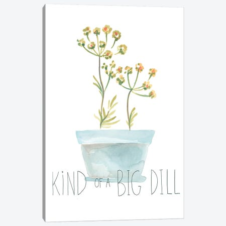Punny Plant III 3-Piece Canvas #JEV1606} by June Erica Vess Canvas Art