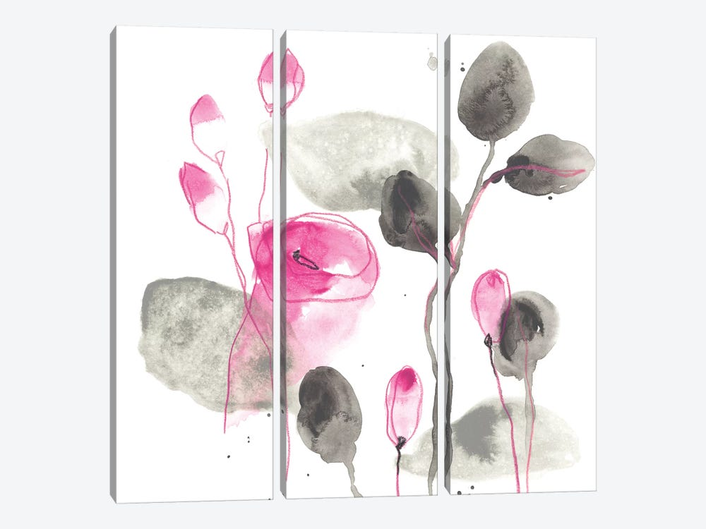 Snapdragon I by June Erica Vess 3-piece Canvas Print