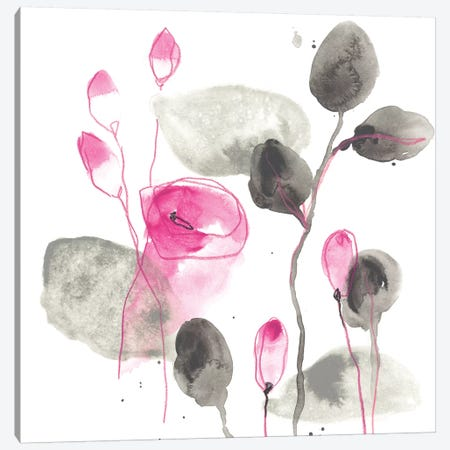 Snapdragon I Canvas Print #JEV1622} by June Erica Vess Art Print