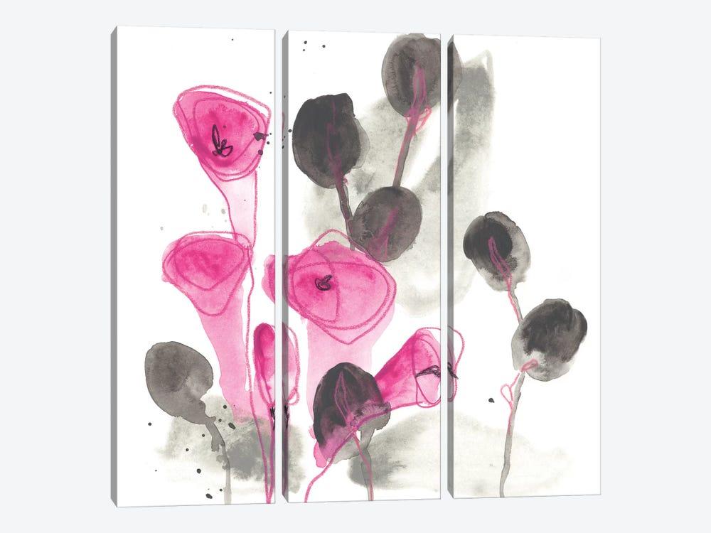 Snapdragon III by June Erica Vess 3-piece Canvas Art Print