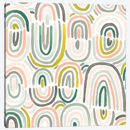 Tropic Tribal II Canvas Print #JEV1629} by June Erica Vess Art Print