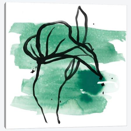 Tropical Sumi-e I Canvas Print #JEV1636} by June Erica Vess Canvas Print